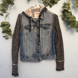 🆕listing! [mossimo] Jean/sweatshirt jacket